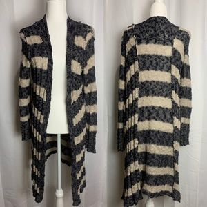 Free People Cardigan Free Spirit Multi Stripe
